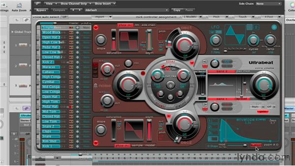 Composing with Ultrabeat: Virtual Instruments in Logic Pro
