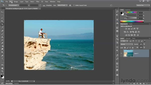 The altogether revamped Crop tool: Photoshop CS6 New Features