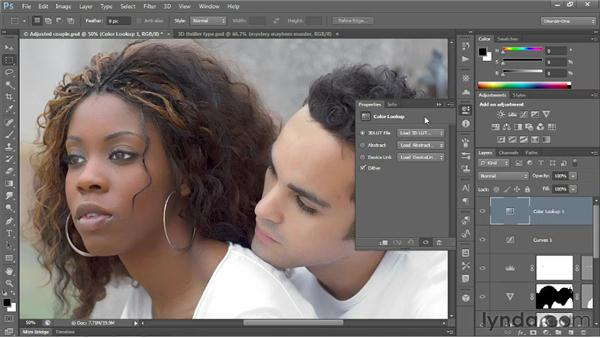 The consolidated Properties panel: Photoshop CS6 New Features
