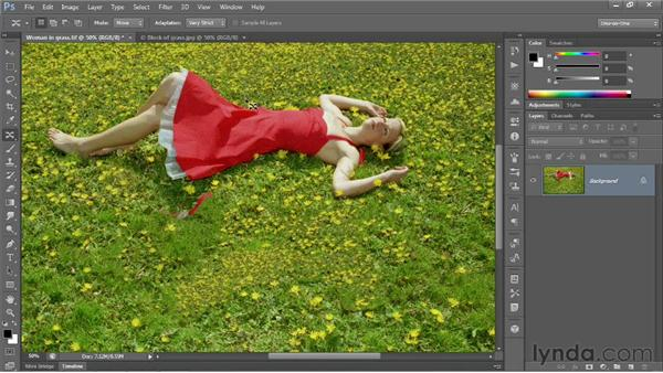 Content-Aware Move and Extend: Photoshop CS6 New Features