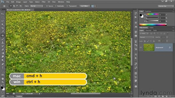 Content-Aware Patch: Photoshop CS6 New Features