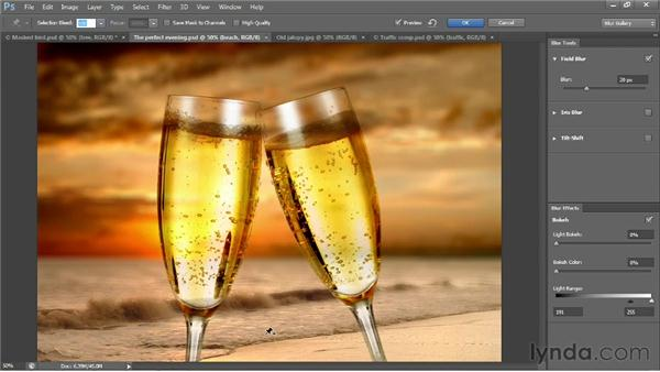 The new three-part Blur Gallery: Photoshop CS6 New Features