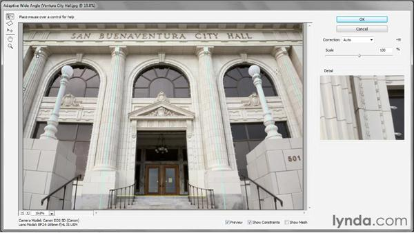 The Adaptive Wide-Angle filter: Photoshop CS6 New Features