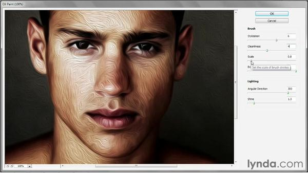 The new Oil Paint filter: Photoshop CS6 New Features