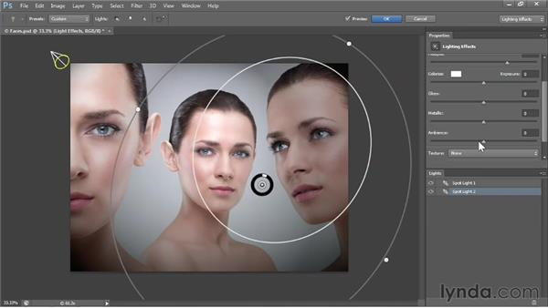 The new Lighting Effects filter: Photoshop CS6 New Features