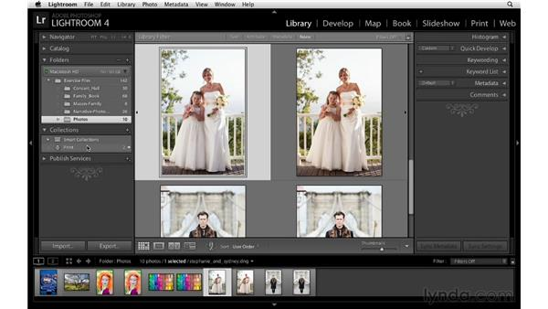 Making print collections: Lightroom 4 Essentials: 03 Creating Prints and Books
