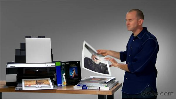 Exploring different types of printers and papers: Lightroom 4 Essentials: 03 Creating Prints and Books