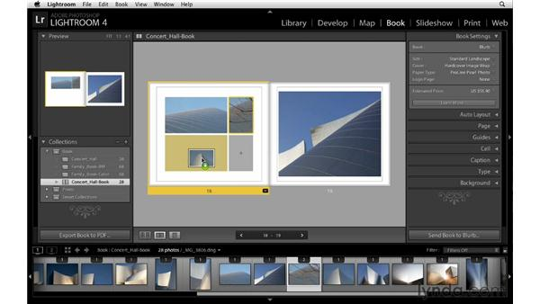 Swapping image position: Lightroom 4 Essentials: 03 Creating Prints and Books