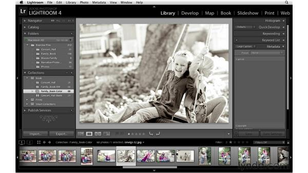 Selecting the keepers: Lightroom 4 Essentials: 03 Creating Prints and Books