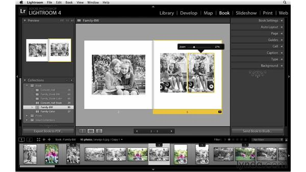 Duplicating the book design : Lightroom 4 Essentials: 03 Creating Prints and Books