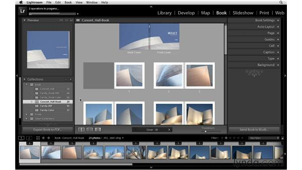 Exporting to PDF: Lightroom 4 Essentials: 03 Creating Prints and Books
