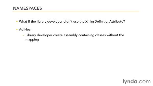 Investigating XAML namespaces: Silverlight 5 Essential Training