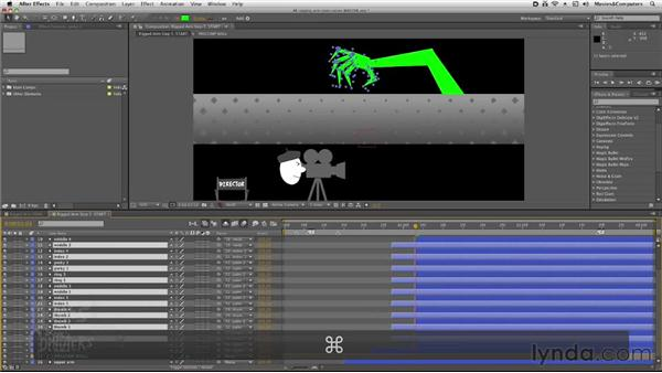: After Effects: Rigging a Character Arm for Animation