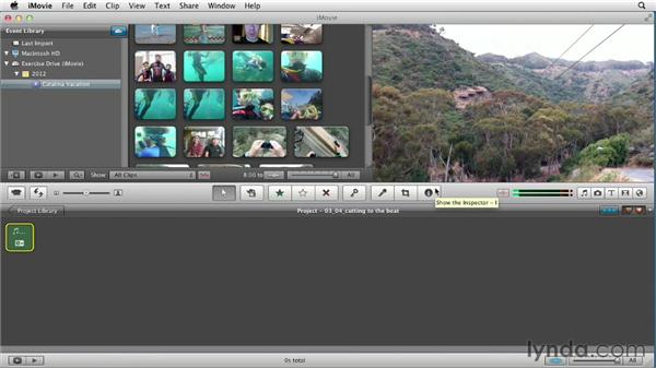 Editing to the beat: Creating a Vacation Video with iMovie