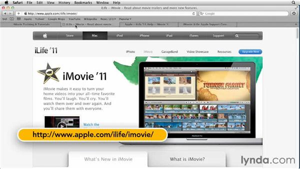 Next steps: Creating a Vacation Video with iMovie