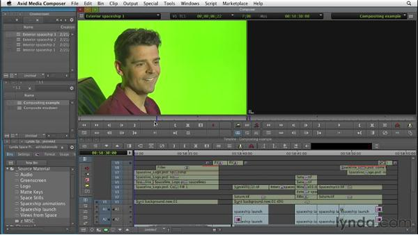 Understanding compositing: Editing with Composites and Effects in Avid Media Composer