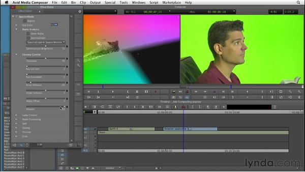 Introduction to advanced compositing effects: Editing with Composites and Effects in Avid Media Composer