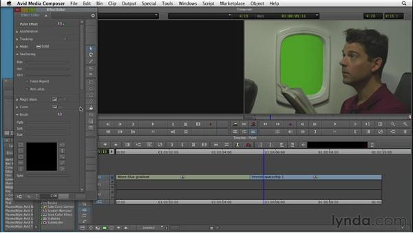 Understanding intraframe effects: Editing with Composites and Effects in Avid Media Composer