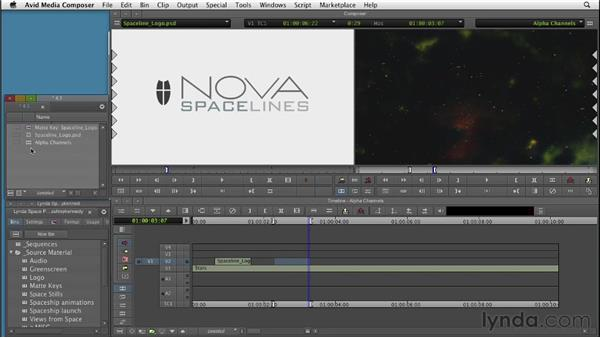 Understanding alpha channel transparency : Editing with Composites and Effects in Avid Media Composer