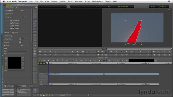 Cloning and tracking objects in a scene: Editing with Composites and Effects in Avid Media Composer