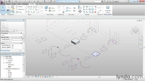 Understanding reference-based and model-based lines: Advanced Modeling in Revit Architecture