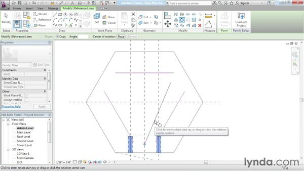 Adding basic forms: Advanced Modeling in Revit Architecture