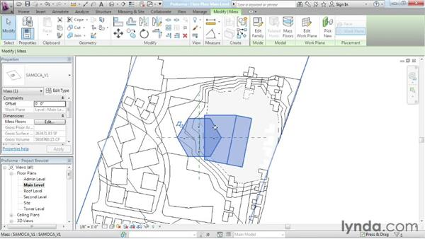 Cutting mass floors: Advanced Modeling in Revit Architecture