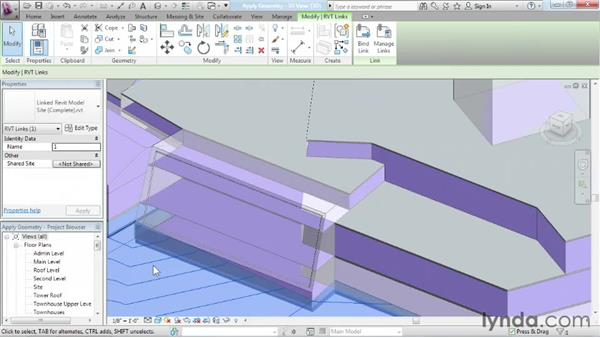 Applying geometry to surfaces: Advanced Modeling in Revit Architecture