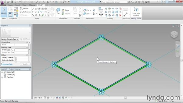 Nesting families: Advanced Modeling in Revit Architecture