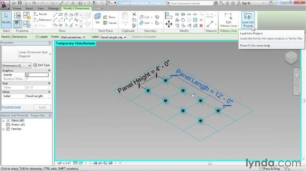 Working with reporting parameters: Advanced Modeling in Revit Architecture