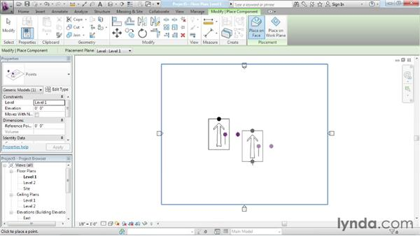 Understanding adaptive points: Advanced Modeling in Revit Architecture