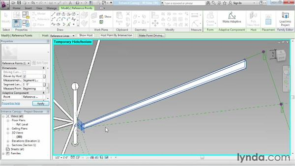 Strategizing with adaptive components: Advanced Modeling in Revit Architecture