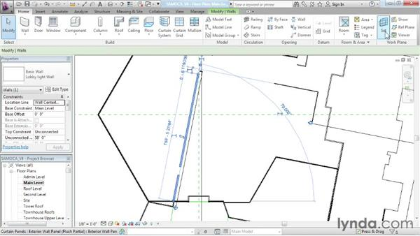 Sculpting a wall: Advanced Modeling in Revit Architecture