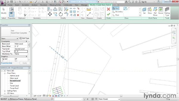 Building a custom stair: Advanced Modeling in Revit Architecture