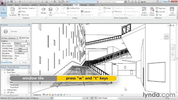 Editing railings: Advanced Modeling in Revit Architecture