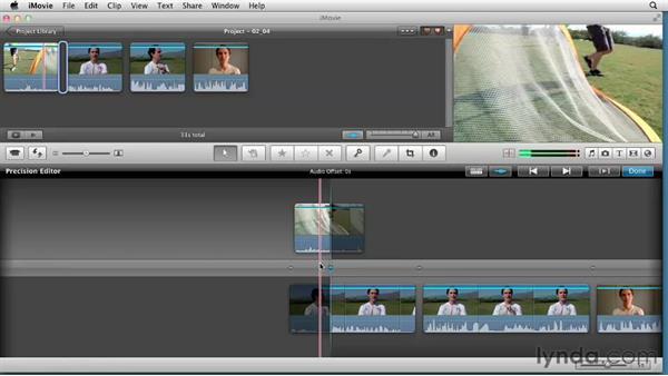 Trimming with the Precision Editor: Creating a Sports Highlight Reel with iMovie