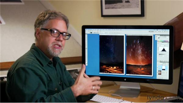 Correcting night skies: Foundations of Photography: Night and Low Light