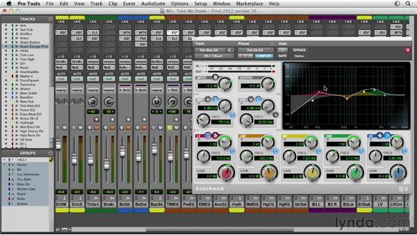 Exploring EQ strategies in mixing: correcting vs. creating: Pro Tools Mixing and Mastering