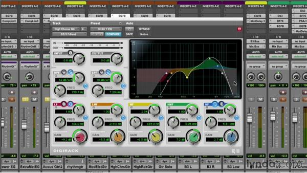 Exploring mixing tips and tricks: EQ: Pro Tools Mixing and Mastering