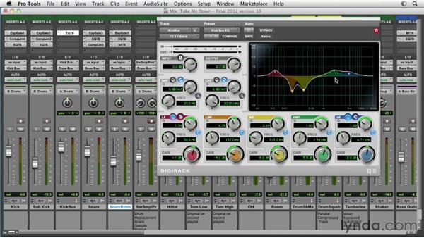Exploring mixing tips and tricks: dynamics: Pro Tools Mixing and Mastering