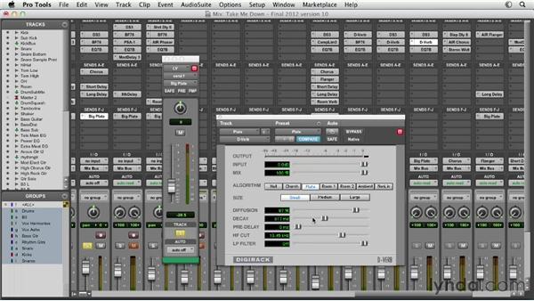 Exploring DigiRack D-Verb: Pro Tools Mixing and Mastering