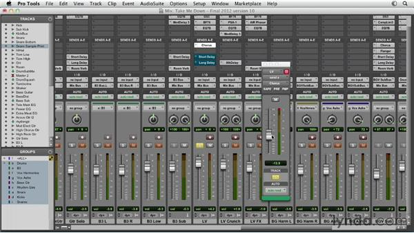 Working with the Creative Collection: Pro Tools Mixing and Mastering