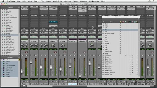 Building distortion and saturation: Pro Tools Mixing and Mastering