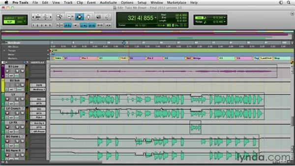 Understanding automation: Pro Tools Mixing and Mastering
