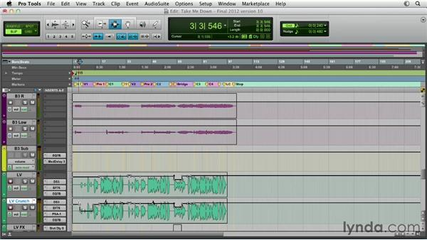 Exploring automation strategies for mixing: Pro Tools Mixing and Mastering
