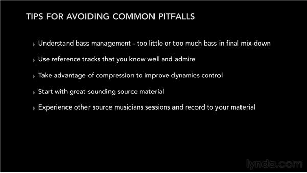 Avoiding common pitfalls: Pro Tools Mixing and Mastering
