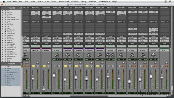 Crafting your mix from start to finish: Pro Tools Mixing and Mastering