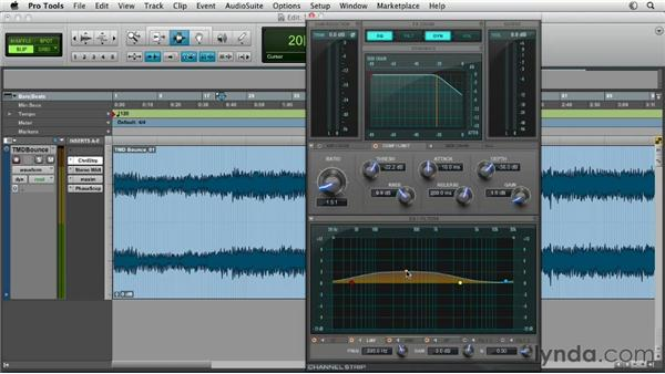 Working with general mastering strategies: Pro Tools Mixing and Mastering