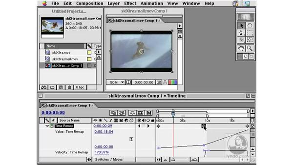 time remapping: After Effects 5.0 Overview