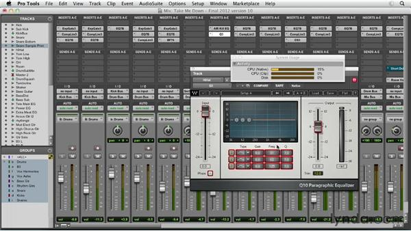Evaluating plug-in processors: Pro Tools Mixing and Mastering